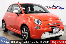 2016_Fiat_500e_ELECTRIC NAVIGATION LEATHER HEATED SEATS BLUETOOTH ALLOY WHEELS_ Carrollton TX
