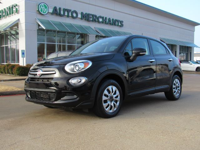 2016 Fiat 500x Pop BLUETOOTH CONNECTIVITY, STEERING WHEEL CONTROLS, AUX/USB INPUTS Plano TX