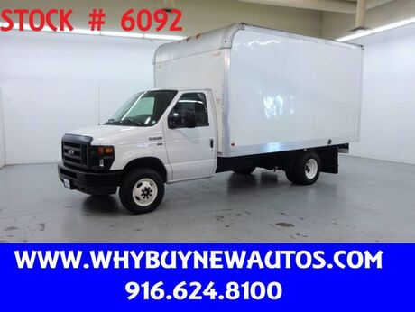 2016 Ford E350 ~ 14ft Box Van ~ Only 55K Miles! Rocklin CA