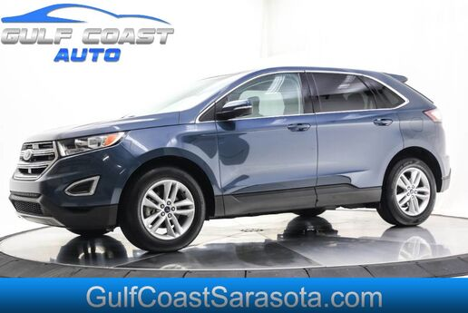 2016 Ford EDGE SEL LEATHER NAVIGATION PANO ROOF WHEELS EXTRA CLEAN Sarasota FL