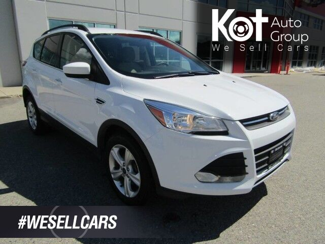 2016 Ford ESCAPE SE! NO ACCIDENTS! LOCAL VEHICLE! HEATED SEATS! FULLY INSPECTED! BEAUTY UNIT! Kelowna BC
