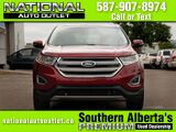 2016 Ford Edge SEL- ONE OWNER - LOW KL,S- HEATED LEATHER Lethbridge AB
