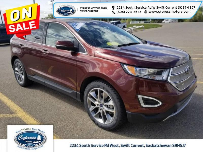 2016 Ford Edge Titanium  - Navigation - $171 B/W Swift Current SK