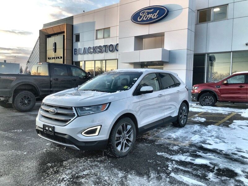 2016 Ford Edge Titanium-One Owner-Accident Free-Loaded Mono ON