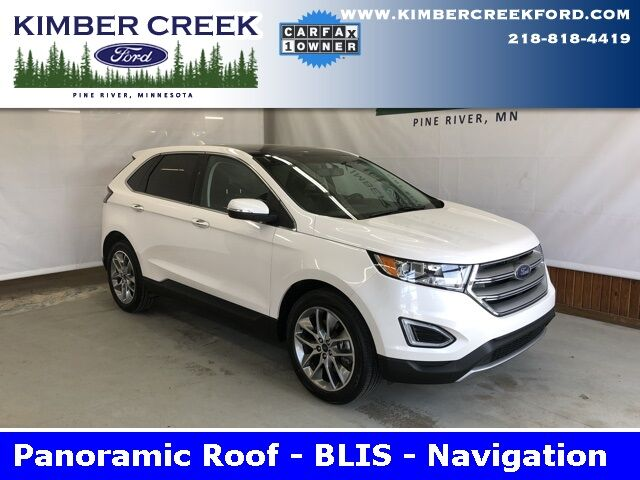 2016 Ford Edge Titanium Pine River MN