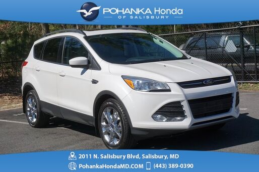 2016_Ford_Escape_SE 4WD ** PANORAMIC MOONROOF & LEATHER ** ONE OWNER *_ Salisbury MD