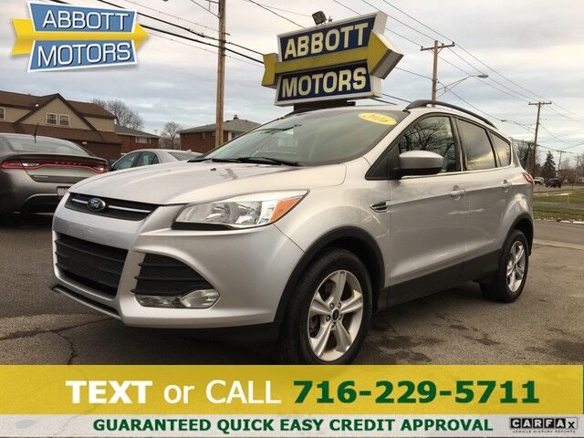 2016 Ford Escape SE 4WD 1-Owner w/Heated Seats Buffalo NY