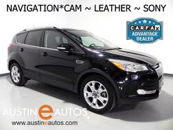 2016_Ford_Escape Titanium_*NAVIGATION, BACKUP-CAMERA, LEATHER, HEATED SEATS, SONY AUDIO, BLUETOOTH, APPLE CARPLAY_ Round Rock TX