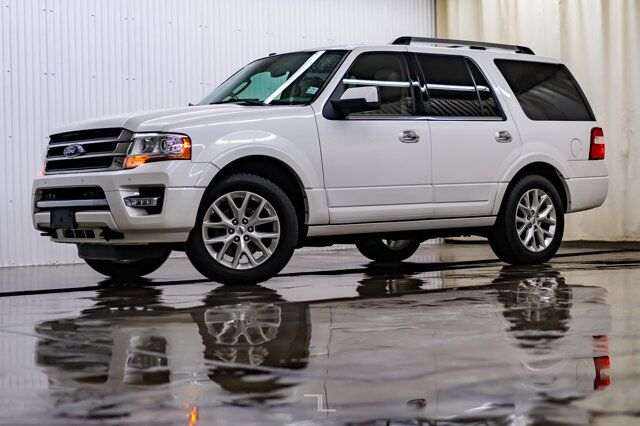 2016 Ford Expedition AWD Limited Leather Roof Nav BCam Red Deer AB