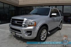 2016_Ford_Expedition_Limited / 4X4 / Auto Start / Heated & Cooled Leather Seats / Sony Speakers / Sunroof / Bluetooth / Back Up Camera / 3rd Row / Seats 8 / Cruise Control / Block Heater / Tow Pkg_ Anchorage AK