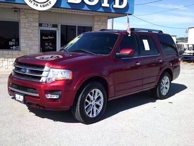 2016 Ford Expedition Limited Liberty Hill TX