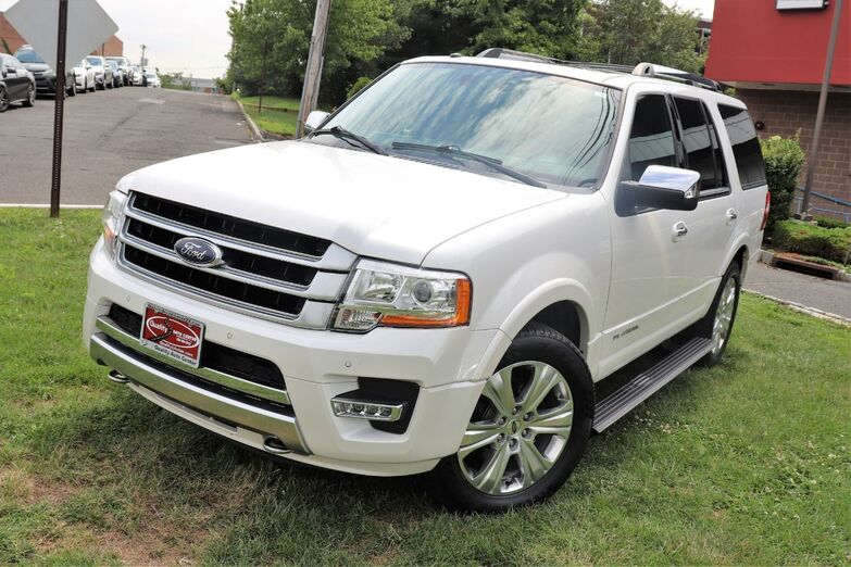 2016 Ford Expedition Platinum Navigation Sunroof 2nd Row Bucket Seat Blind Spot Backup Camera 1 Owner Springfield NJ
