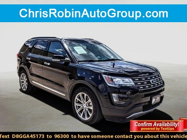 2016 Ford Explorer 4WD 4DR LIMITED Midland TX
