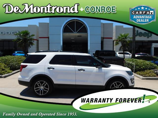 2016 Ford Explorer 4WD 4dr Sport Conroe TX