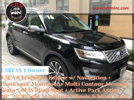 2016_Ford_Explorer_4WD Platinum_ Arlington VA