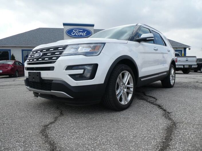 2016 Ford Explorer Limited- 4X4- NAV- FRONT/ REAR HEATED SEATS Essex ON