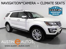 Ford Explorer Limited 4WD *NAVIGATION, BACKUP-CAMERA, TOUCH SCREEN, LEATHER, CLIMATE SEATS, SONY AUDIO, BLUETOOTH 2016