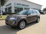 2016 Ford Explorer Limited FWD LEATHER, NAVIGATION, HTD/CLD SEATS, POWER LIFTGATE, POWER FOLDING 3RD ROW, 360 CAMERA