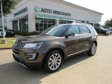 2016_Ford_Explorer_Limited FWD LEATHER, NAVIGATION, HTD/CLD SEATS, POWER LIFTGATE, POWER FOLDING 3RD ROW, 360 CAMERA_ Plano TX