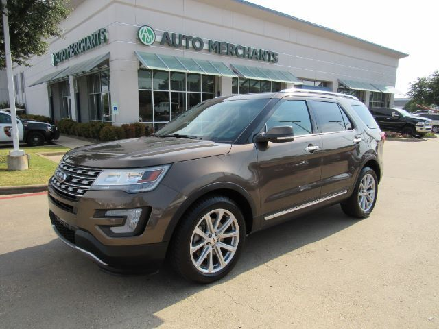 2016 Ford Explorer Limited FWD LEATHER, NAVIGATION, HTD/CLD SEATS, POWER LIFTGATE, POWER FOLDING 3RD ROW, 360 CAMERA Plano TX