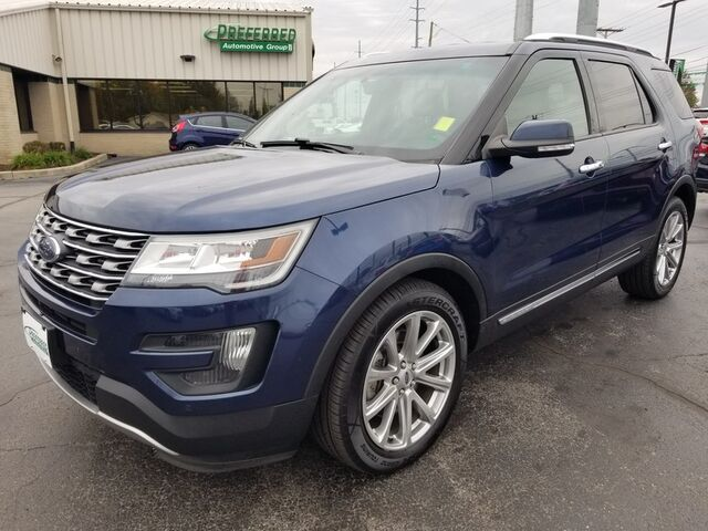2016 Ford Explorer Limited Fort Wayne Auburn and Kendallville IN