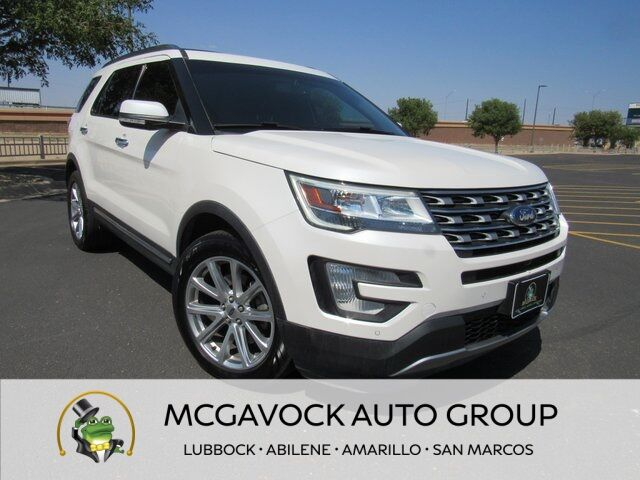 2016 Ford Explorer Limited Lubbock TX