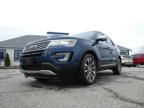 2016 Ford Explorer Platinum- 4X4- LOADED- NAV- REMOTE START- BACKUP CAM Essex ON