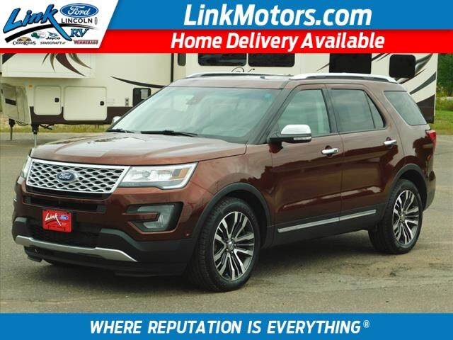 2016 Ford Explorer Platinum Rice Lake WI
