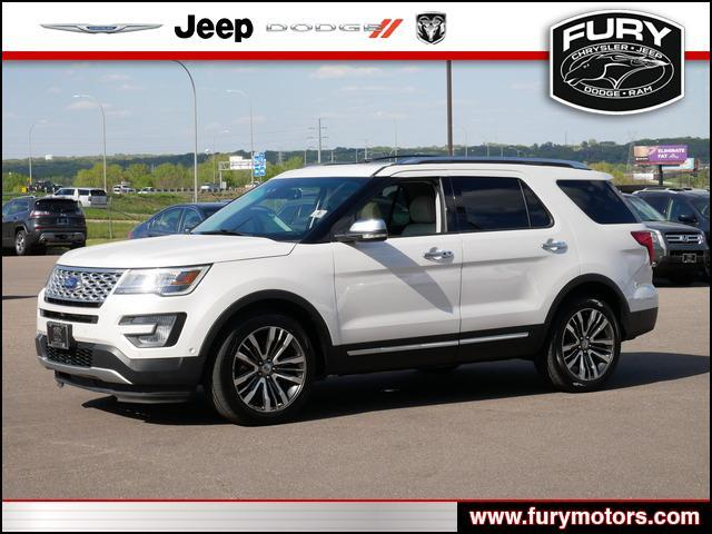2016 Ford Explorer Platinum St. Paul MN