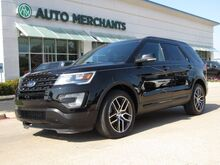 2016_Ford_Explorer_Sport 4WD, Dual moonroof, Blind Spot, Heated and Cooled seats, Navi, 3rd row seating_ Plano TX