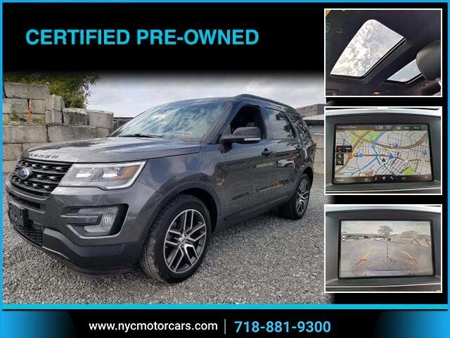 2016 Ford Explorer Sport Navigation Pano Roof Bronx NY