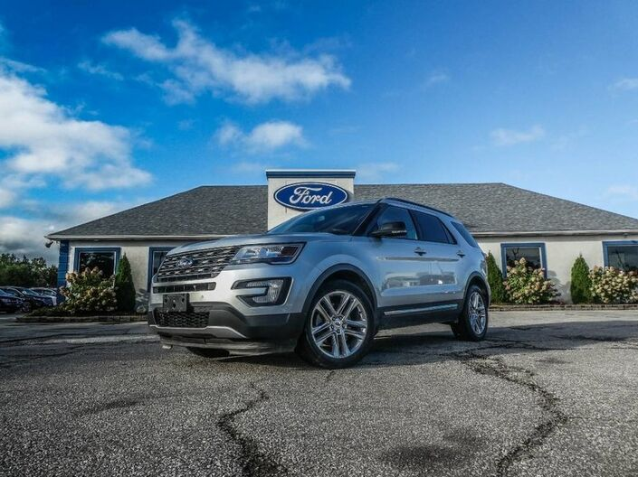 2016 Ford Explorer XLT- LEATHER- NAVIGATION- PANORAMIC SUNROOF- BACKUP CAMERA Essex ON