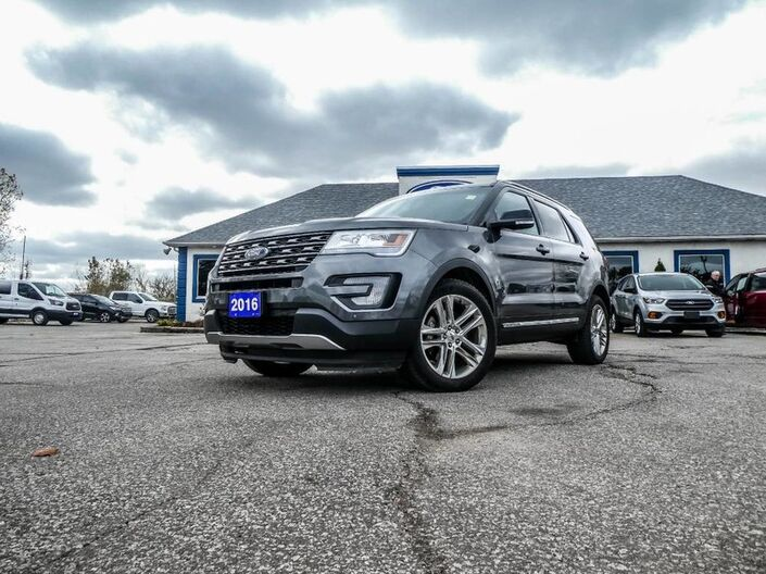 2016 Ford Explorer XLT- LEATHER- PANORAMIC SUNROOF- NAVIGATION- HEATED SEATS Essex ON