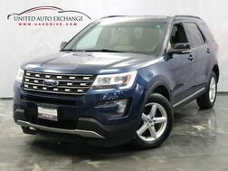 2016_Ford_Explorer_XLT 4wd / 3.5L V6 Engine / Push Start / Bluetooth / Rear View Camera_ Addison IL