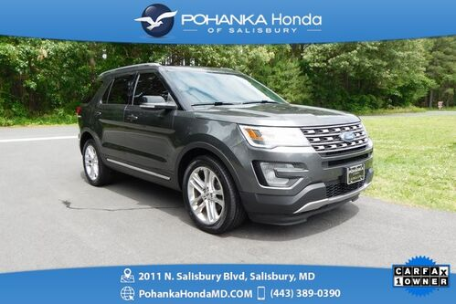 2016_Ford_Explorer_XLT AWD ** NAVI & SUNROOF ** ONE OWNER **_ Salisbury MD