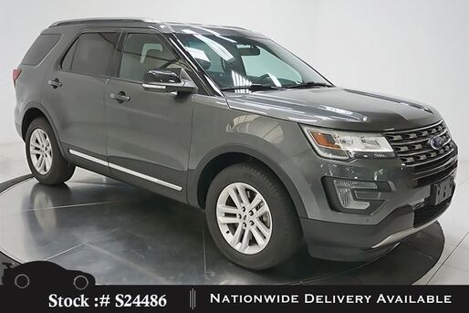 2016_Ford_Explorer_XLT CAM,HTD STS,PARK ASST,18IN WLS,3RD ROW_ Plano TX