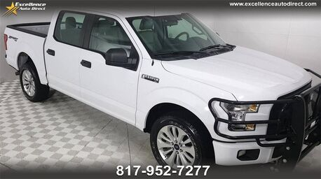 2016_Ford_F-150_4x4 SUPERCREW 145''WB,4WD,CRUISE CONTROL..._ Euless TX