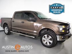 2016_Ford_F-150 2WD SuperCrew XLT_*BACKUP-CAMERA, STEERING WHEEL CONTROL, CRUISE CONTROL, ALLOY WHEELS, TOW PKG, BED LINER, FORD SYNC, USB INPUT, BLUETOOTH PHONE & AUDIO_ Round Rock TX