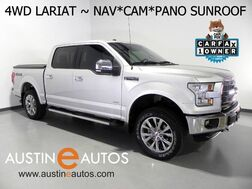 2016_Ford_F-150 4WD Lariat_*NAVIGATION, PANORAMA MOONROOF, BACKUP-CAMERA, LEATHER, CLIMATE SEATS, SONY AUDIO, BLUETOOTH_ Round Rock TX