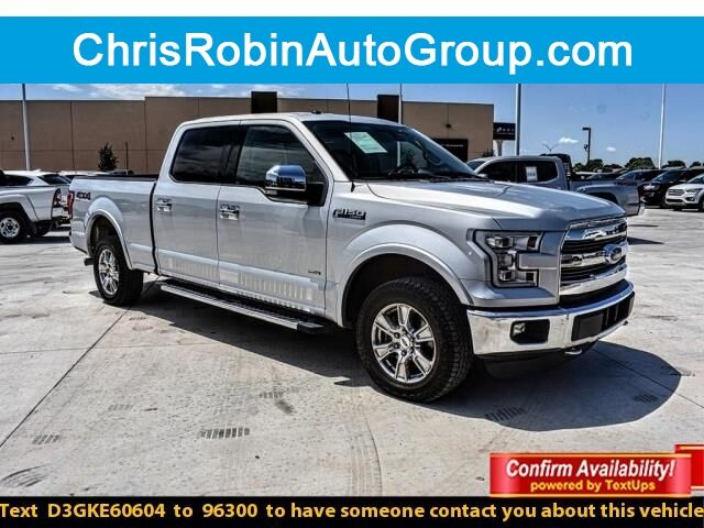 2016 Ford F-150 4WD SUPERCREW 145 LARIAT Midland TX