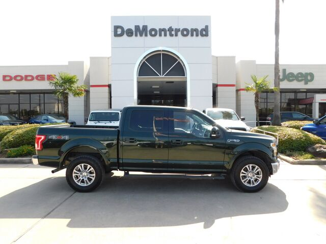 2016 Ford F-150 4WD SuperCrew 145 Lariat Conroe TX