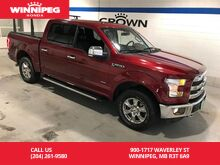 2016_Ford_F-150_4WD SuperCrew 145 Lariat/One owner/Low KM/Accident free_ Winnipeg MB