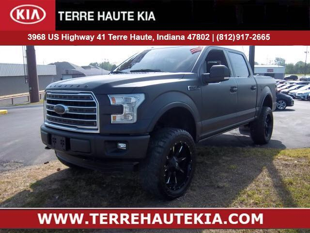 2016 Ford F-150 4WD SuperCrew 145 Limited *Late Av Terre Haute IN