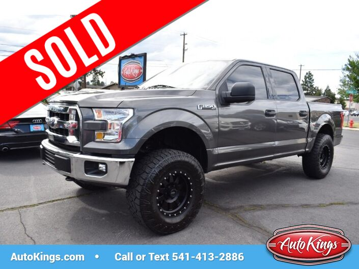 2016 Ford F-150 4WD SuperCrew 145 XLT Bend OR