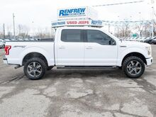 2016_Ford_F-150_4WD SuperCrew XLT Sport, Twin Panel Moonroof, Navigation, Heated Seats, 33 Inch Tires, Remote Start_ Calgary AB