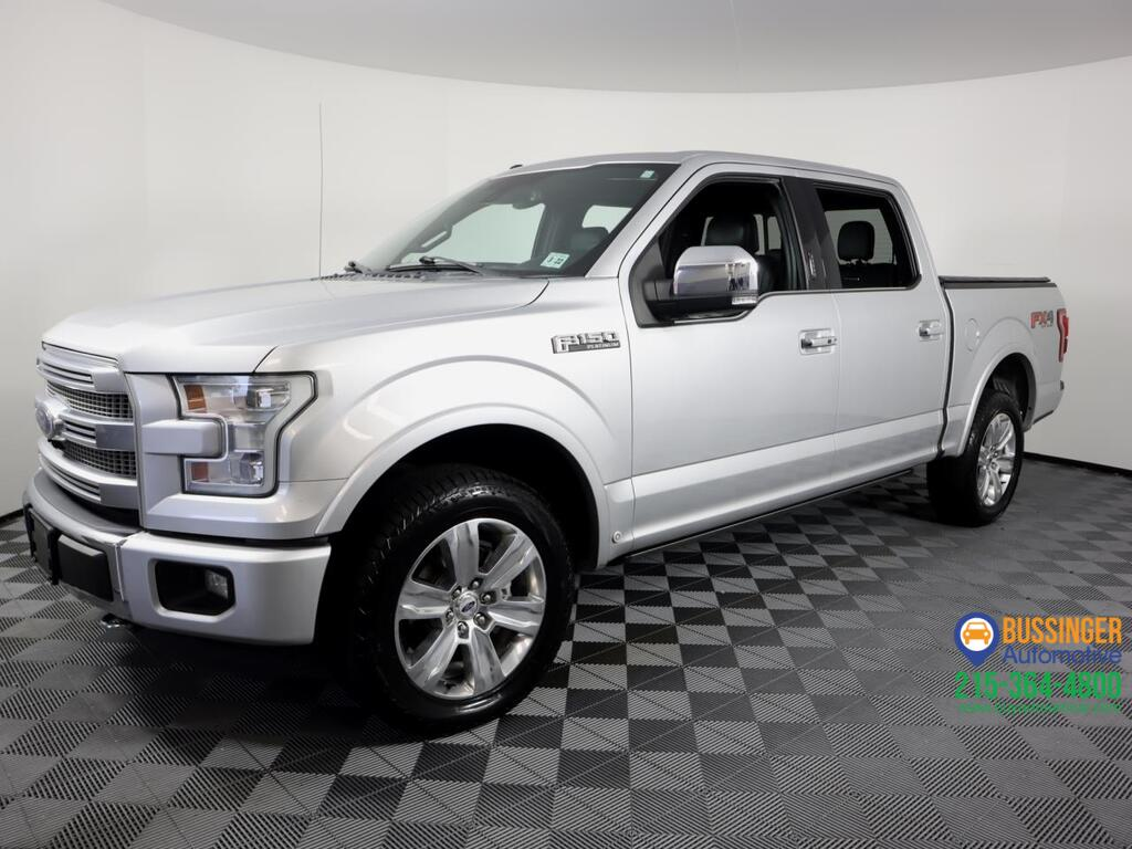2016 Ford F-150 Crew Cab Platinum 4x4 Feasterville PA