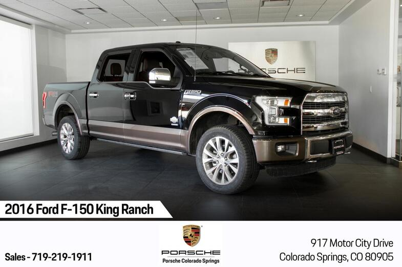 2016 Ford F-150 King Ranch Colorado Springs CO