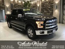 2016_Ford_F-150 LARIAT CREW 4X4 ECO__ Hays KS