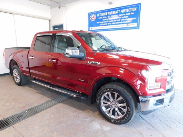 2016 Ford F-150 LARIAT CREW LEATHER NAVI Listowel ON
