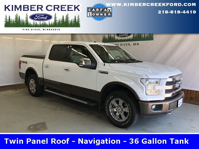 2016 Ford F-150 Lariat Pine River MN